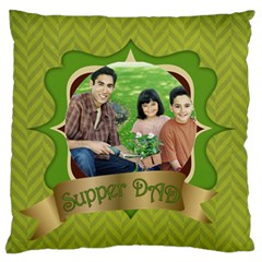 Fathers Day By Dad   Large Cushion Case (two Sides)   Oxab9bitl20f   Www Artscow Com Back