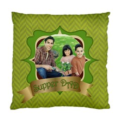 Fathers Day By Dad   Standard Cushion Case (two Sides)   Sq0mnf09pf2y   Www Artscow Com Back