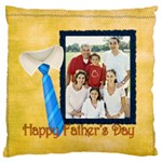 fathers day - Large Cushion Case (One Side)
