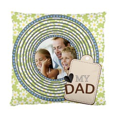 Father By Dad   Standard Cushion Case (two Sides)   C3q402fb9hqc   Www Artscow Com Front