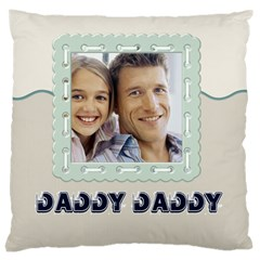 Father By Dad   Large Cushion Case (two Sides)   Gxvz6apb5274   Www Artscow Com Back