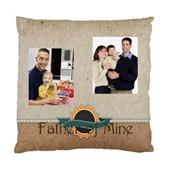 Father By Dad   Standard Cushion Case (two Sides)   Hbd0w1ltir1c   Www Artscow Com Front