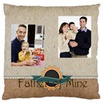 father - Large Cushion Case (One Side)