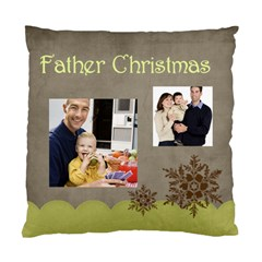 Father By Dad   Standard Cushion Case (two Sides)   4pdunaf60g8v   Www Artscow Com Back