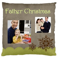 Father By Dad   Large Cushion Case (two Sides)   My2ulty9is01   Www Artscow Com Front