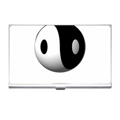 Yin Yang Business Card Holder by hlehnerer