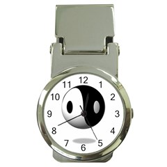 Yin Yang Money Clip With Watch by hlehnerer