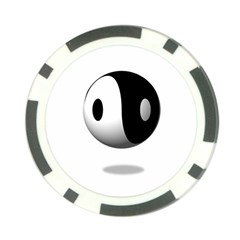 Yin Yang Poker Chip by hlehnerer