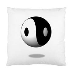 Yin Yang Cushion Case (one Side) by hlehnerer