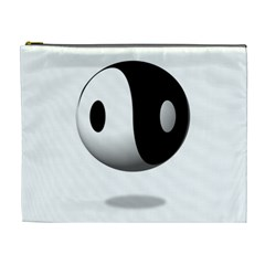 Yin Yang Cosmetic Bag (xl) by hlehnerer