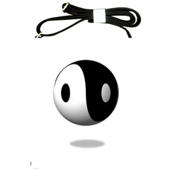 Yin Yang Shoulder Sling Bag by hlehnerer