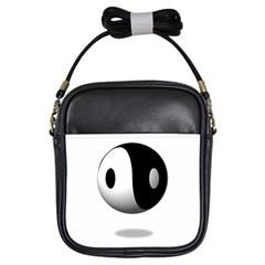Yin Yang Girl s Sling Bag by hlehnerer