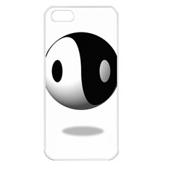 Yin Yang Apple Iphone 5 Seamless Case (white) by hlehnerer