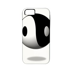 Yin Yang Apple Iphone 5 Classic Hardshell Case (pc+silicone) by hlehnerer