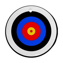 Target Round Ornament by hlehnerer