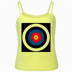 Target Yellow Spaghetti Tank by hlehnerer