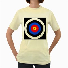 Target  Womens  T Shirt (yellow) by hlehnerer
