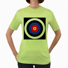Target Womens  T Shirt (green) by hlehnerer