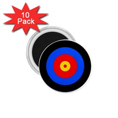 Target 1 75  Button Magnet (10 Pack) by hlehnerer