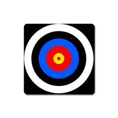 Target Magnet (square) by hlehnerer