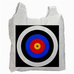 Target Recycle Bag (one Side) by hlehnerer