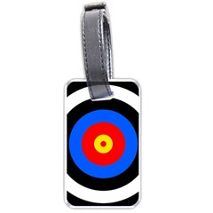 Target Luggage Tag (one Side) by hlehnerer