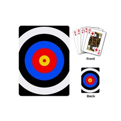 Target Playing Cards (mini) by hlehnerer