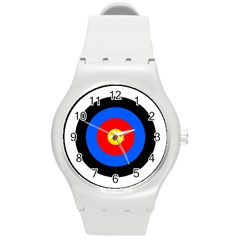 Target Plastic Sport Watch (medium) by hlehnerer