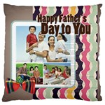 father s day - Large Cushion Case (Two Sides)