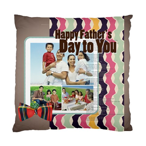 Fathers s Day By Dad   Standard Cushion Case (one Side)   72v91c000vfi   Www Artscow Com Front