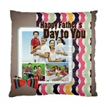 fathers s day - Cushion Case (One Side)