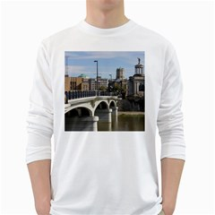 Hamilton 1 Mens' Long Sleeve T Shirt (white) by pictureperfectphotography