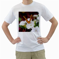 Butterfly 159 Mens  T Shirt (white) by pictureperfectphotography