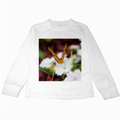 Butterfly 159 Kids Long Sleeve T Shirt by pictureperfectphotography