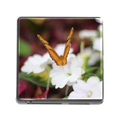 Butterfly 159 Memory Card Reader With Storage (square)