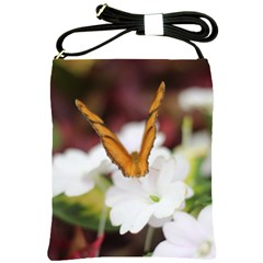 Butterfly 159 Shoulder Sling Bag by pictureperfectphotography