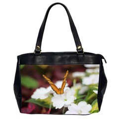Butterfly 159 Oversize Office Handbag (two Sides) by pictureperfectphotography