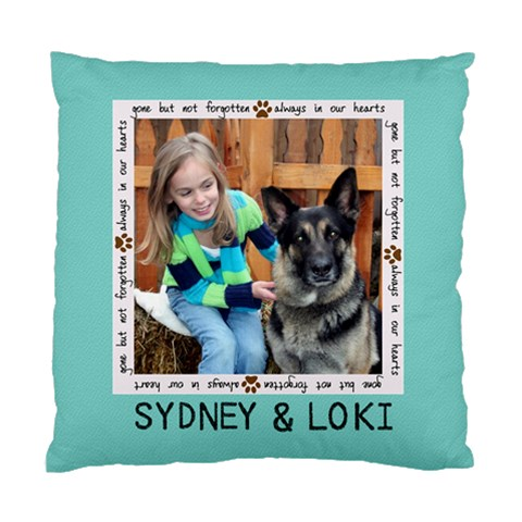 Sydney By Tonya Boden   Standard Cushion Case (one Side)   Htxh96t19vre   Www Artscow Com Front
