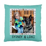 sydney - Standard Cushion Case (One Side)
