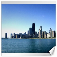 Chicago Skyline Canvas 16  X 16  (unframed) by canvasngiftshop