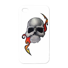 Skull Tattoo Apple iPhone 4 Case (White) by MakeYourOwnGiftIdeasUK