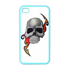 Skull Tattoo Apple iPhone 4 Case (Color) by MakeYourOwnGiftIdeasUK