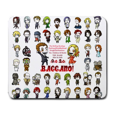 Baccano Mouse Pad By Daniel Choi   Collage Mousepad   S4k83weqeasb   Www Artscow Com 9.25 x7.75 Mousepad - 1