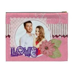 Love By Ki Ki   Cosmetic Bag (xl)   Sznnfdov5f3v   Www Artscow Com Back