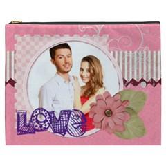 Love By Ki Ki   Cosmetic Bag (xxxl)   67jddcknm8i3   Www Artscow Com Front