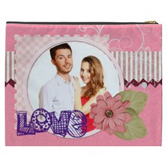 Love By Ki Ki   Cosmetic Bag (xxxl)   67jddcknm8i3   Www Artscow Com Back