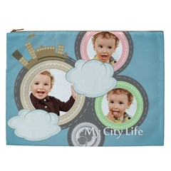 City Life By Anita   Cosmetic Bag (xxl)   Q3alzb3qljx5   Www Artscow Com Front