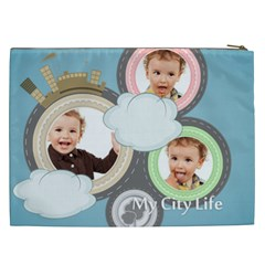 City Life By Anita   Cosmetic Bag (xxl)   Q3alzb3qljx5   Www Artscow Com Back