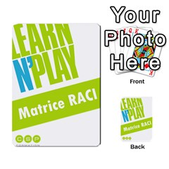 Raci By Jourdant   Multi Purpose Cards (rectangle)   Nuvyz2ktbzji   Www Artscow Com Back 9