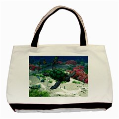 Sea Turtle Classic Tote Bag (two Sides) by gatterwe